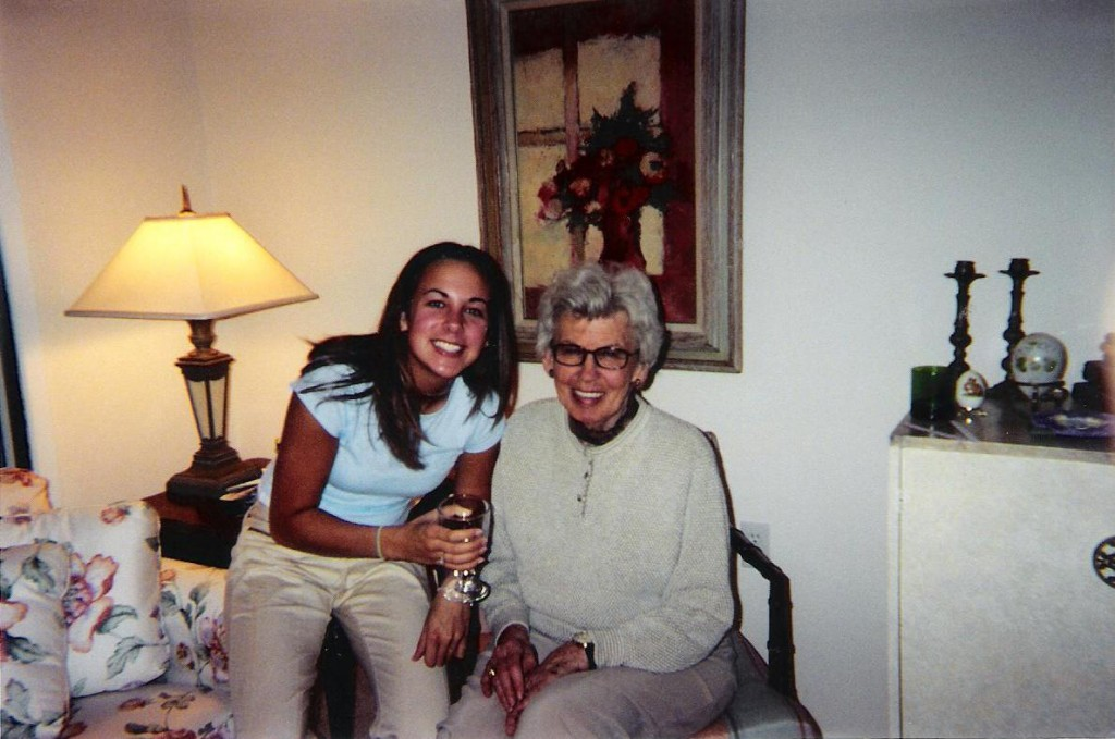 One of my favorite photos of me and Mor Mor (2003).