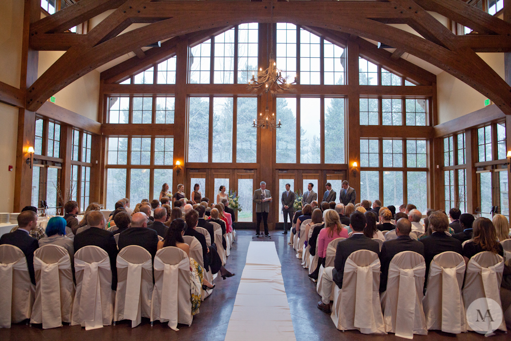 The Donovan Pavilion in Vail, Colorado. Picture credit: www.mattalbertsphoto.com