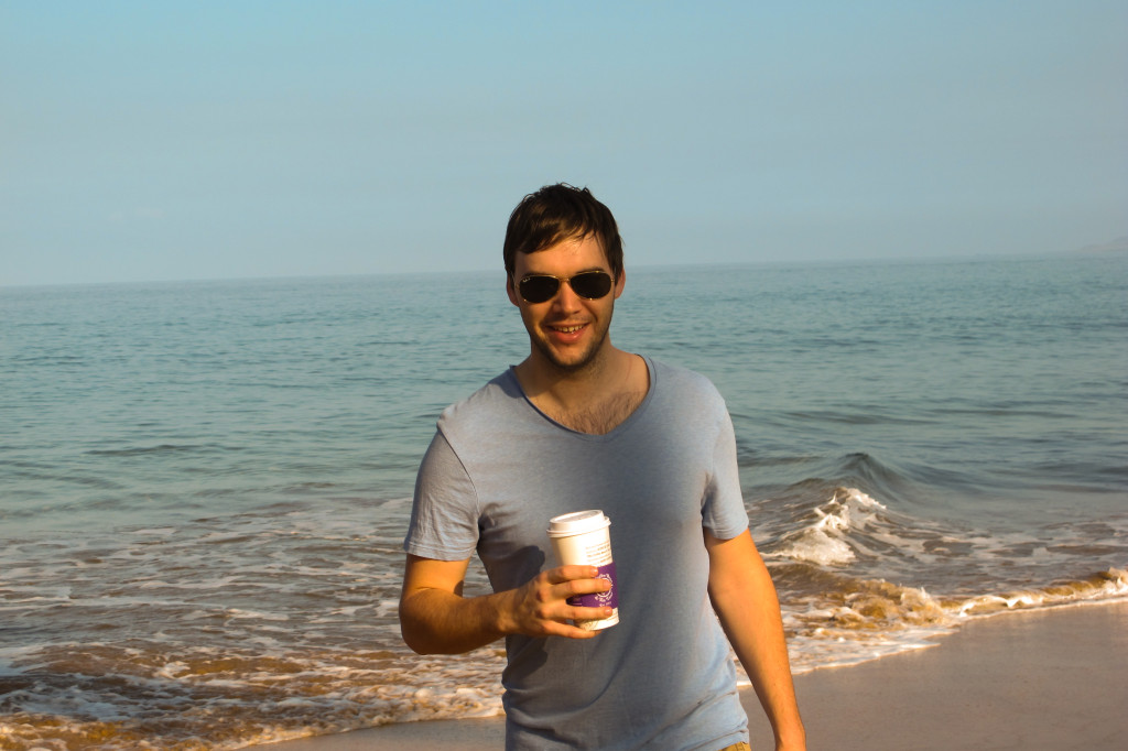 Each morning we grabbed a cup of coffee and strolled the beach. What a wonderful way to start the day!