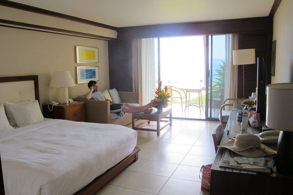 Our ocean front room at the Wailea Beach Marriott was perfect!