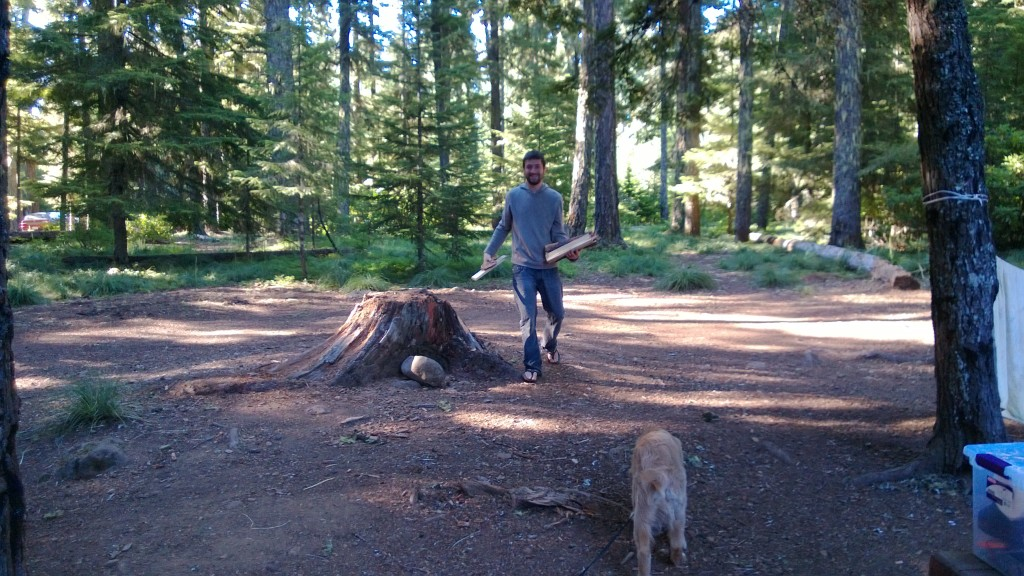 Tyler the lumberjack.