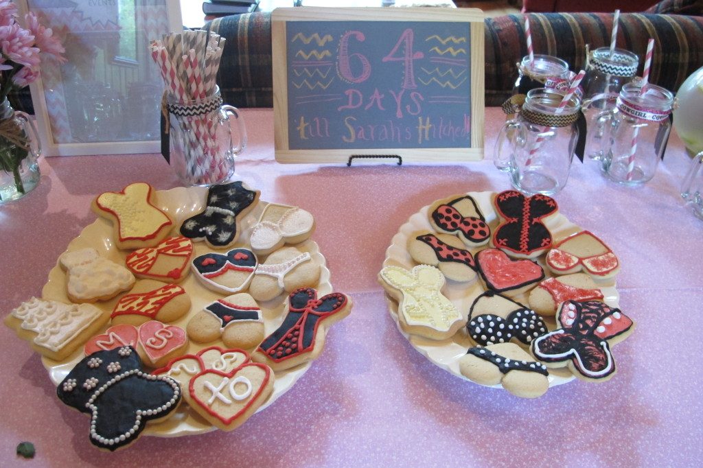 Sarah's future sister-in-law decorated these beautiful cookies.