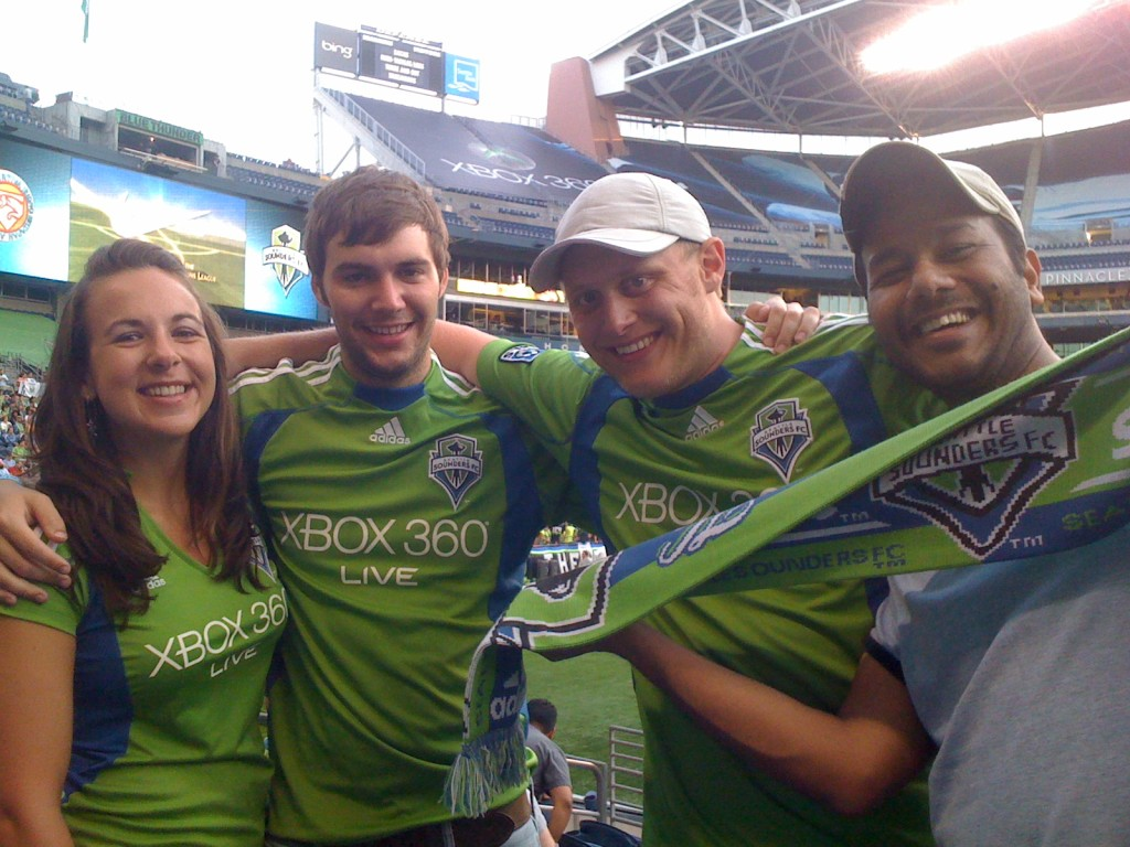 Sounders game.