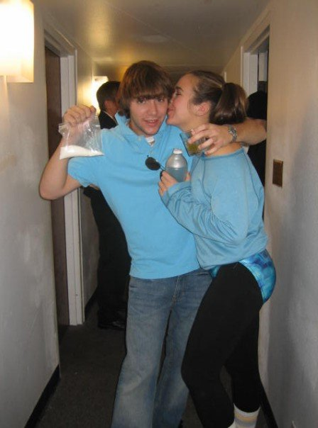 Halloween 2006 - I was an 80s workout instructor and Alex was just an 80s crack head I guess?