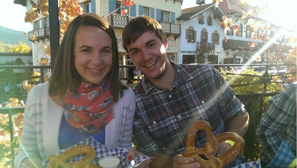Yum pretzels!