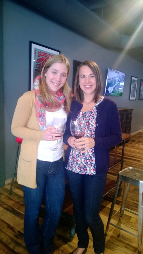 Wine tasting with Cammy