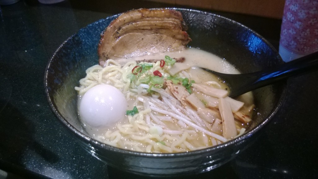 Lunch date at Kukai Ramen in Bellevue