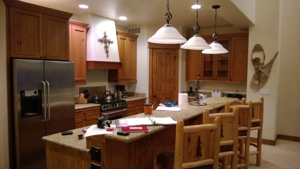 A great big kitchen to cook lots of food in!