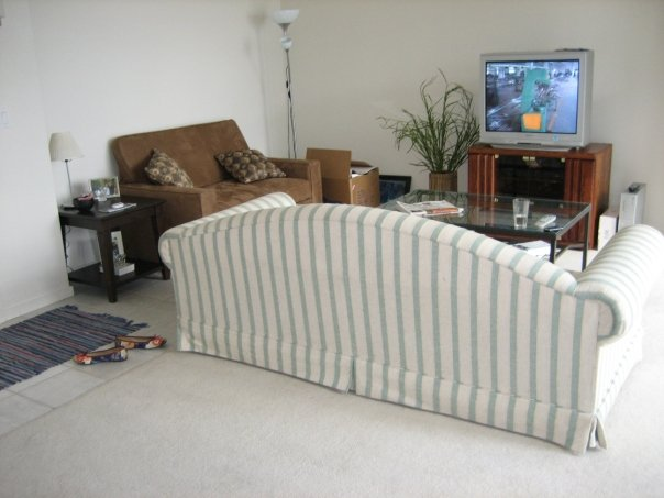 Our living room 5 years ago.