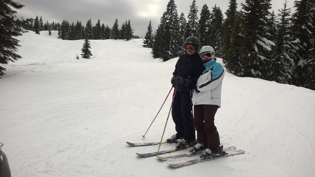 Pro skiers!