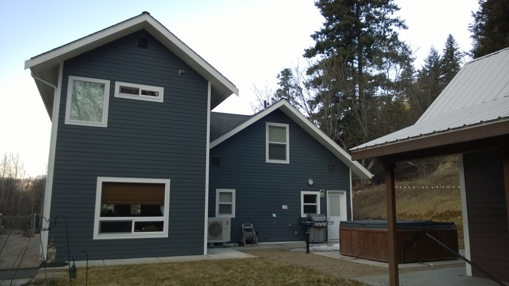 Our cute little rental cabin