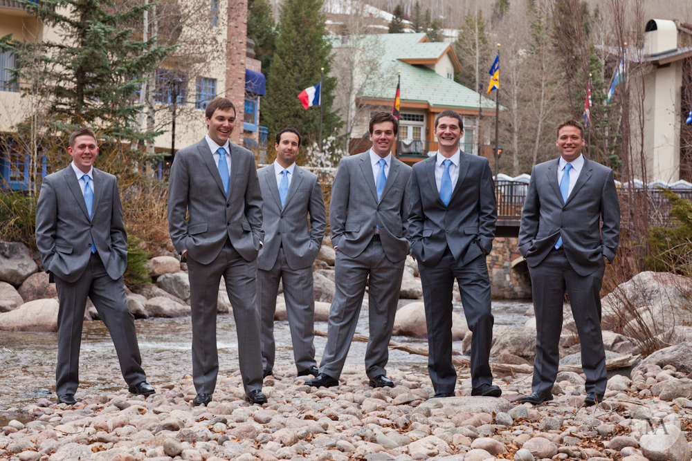 The groomsmen and ushers