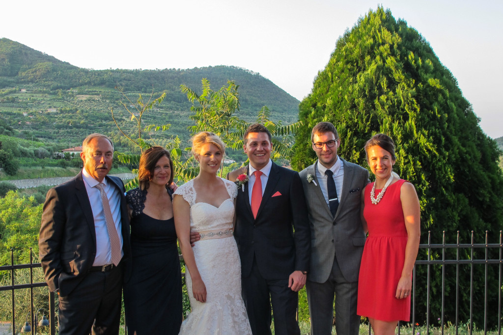 {Attended Alina and Alberto's fairy tale wedding in the Italian countryside}
