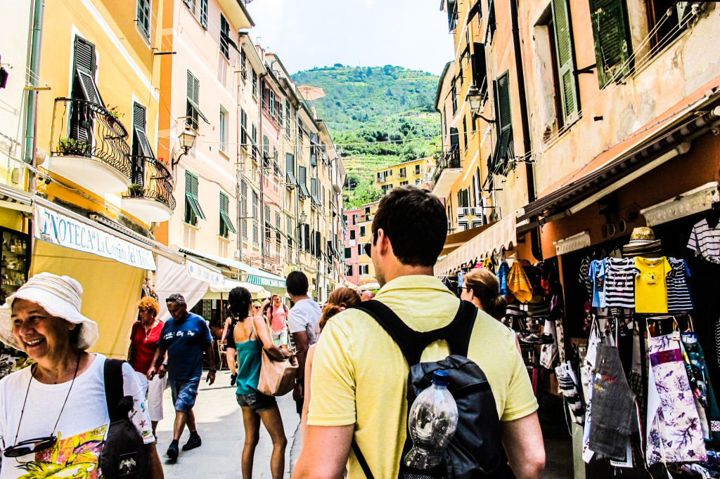 {We strolled the cobblestone streets of Cinque Terre together...}