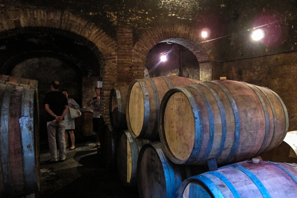 {I want to say this cellar is 600 years old}