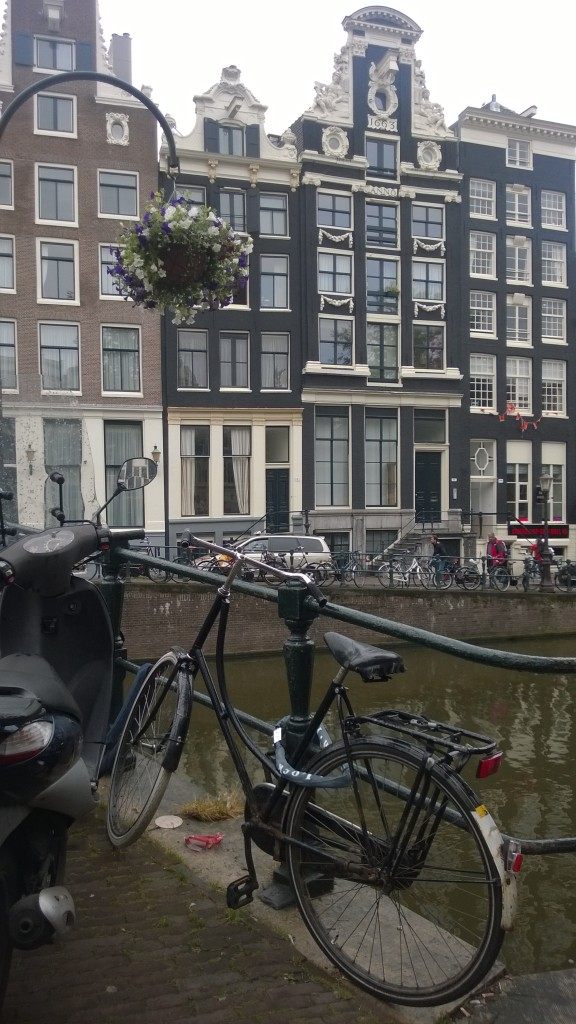 {And quietly enjoyed the last bits of our trip while admiring the charm of Amsterdam.}