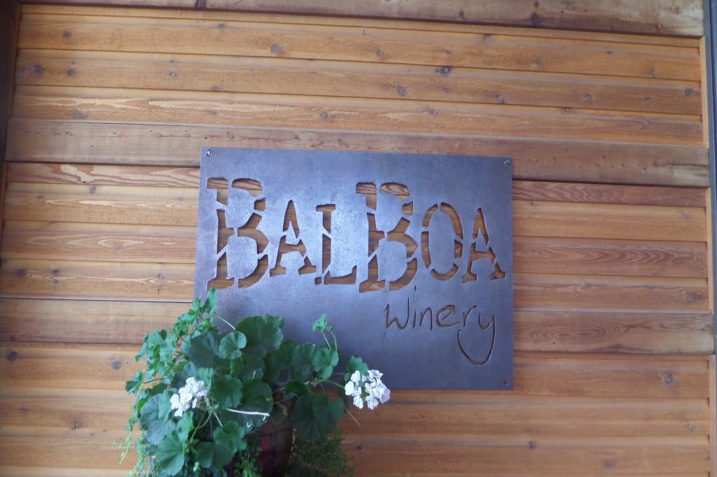 {we really liked the ambiance at Balboa!}