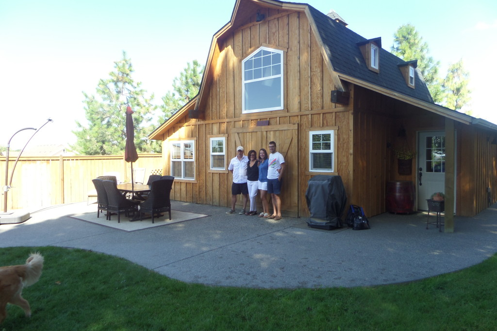 "{we made it to Walla Walla and this was our home base. ""The Barn"" is the home we rented for the long weekend and this vacation rental was the best we have ever stayed in!}"