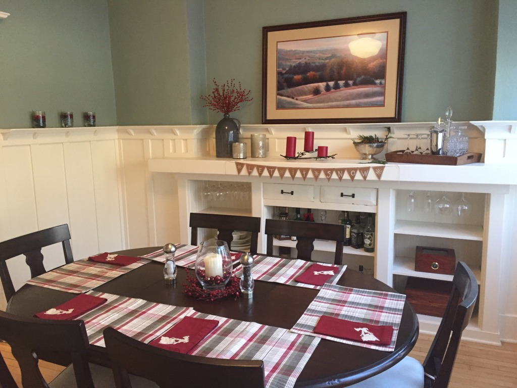 {Our little dining room}