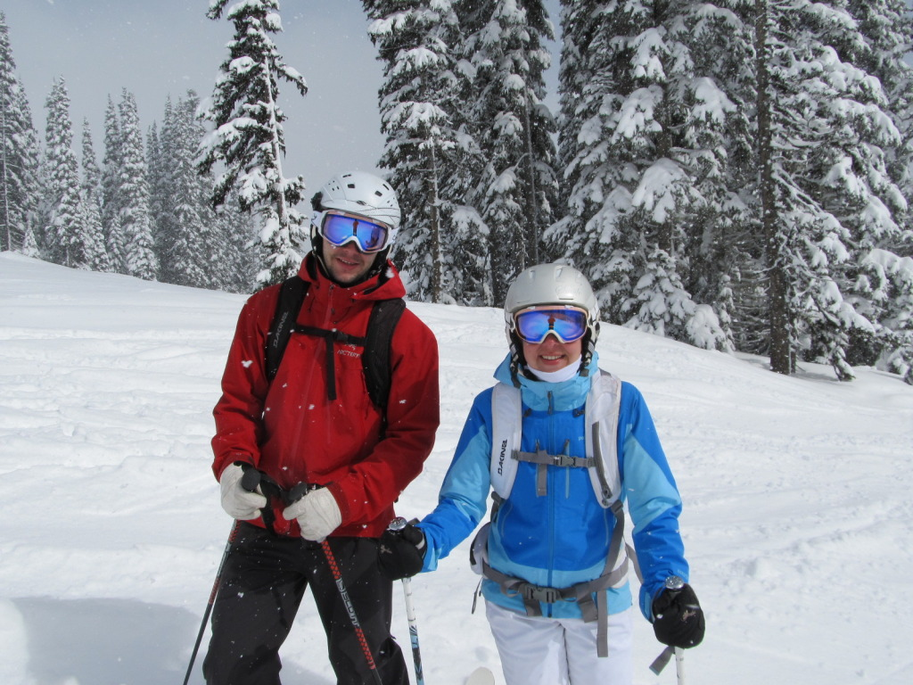 {From the 2012-2013 ski season at our home mountain, Crystal Mountain Resort}