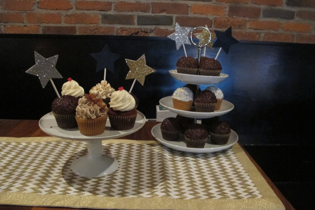 {Colleen found cupcakes from Yellow Leaf Cupcakes, a place that was new to both of us. They were divine!}
