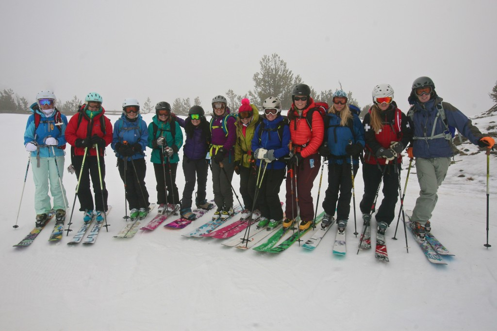{the group just before we headed out to the backcountry}