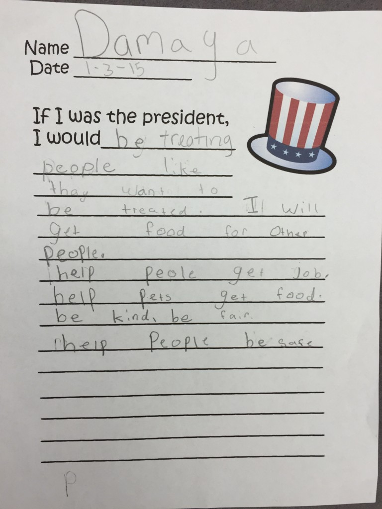 {what our politicians should be living like... the words of an innocent 8 year old are powerful}