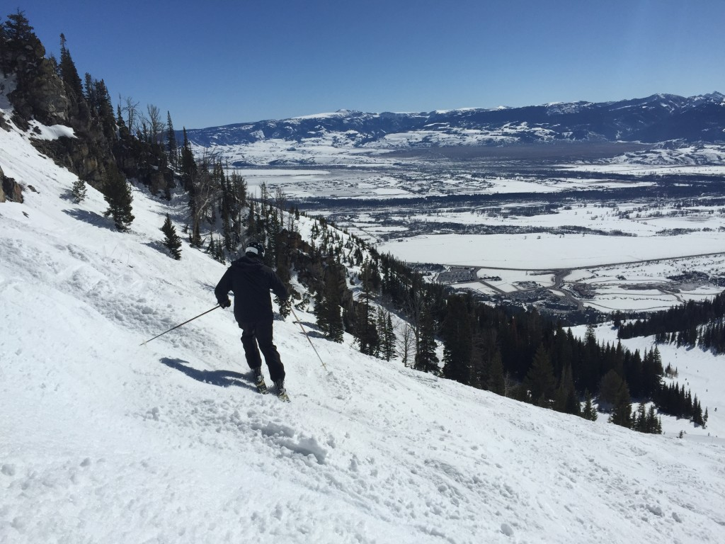 {60 years young and still rippin' it at Jackson Hole!}