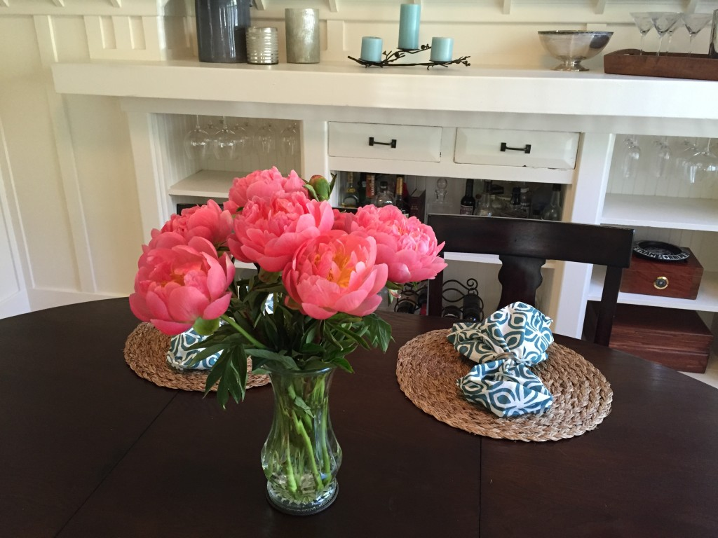 {first peonies of the season - so gorgeous!}