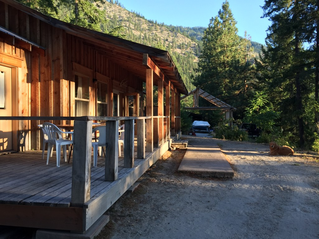 """{we stayed in """"the pavilion"""" cabin, which was amazingly awesome}"""