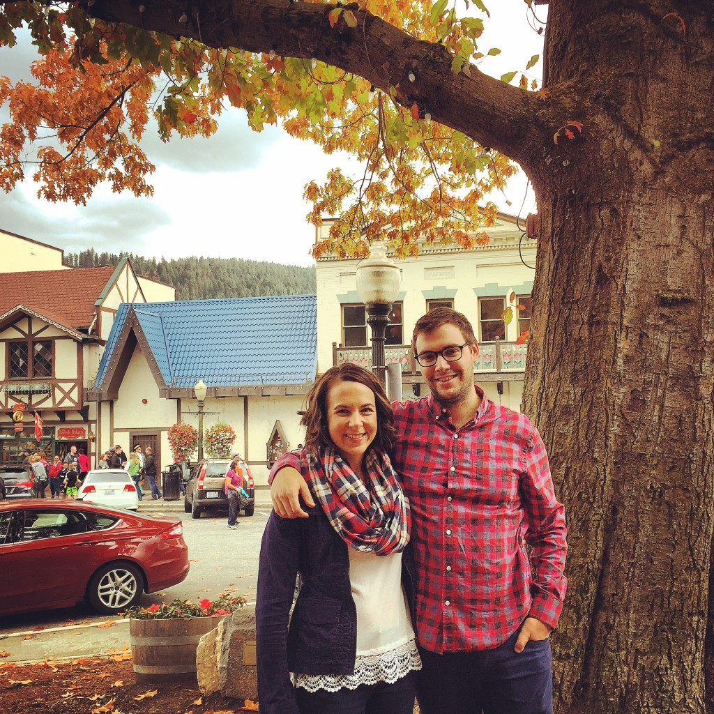 {photo op in Leavenworth!}