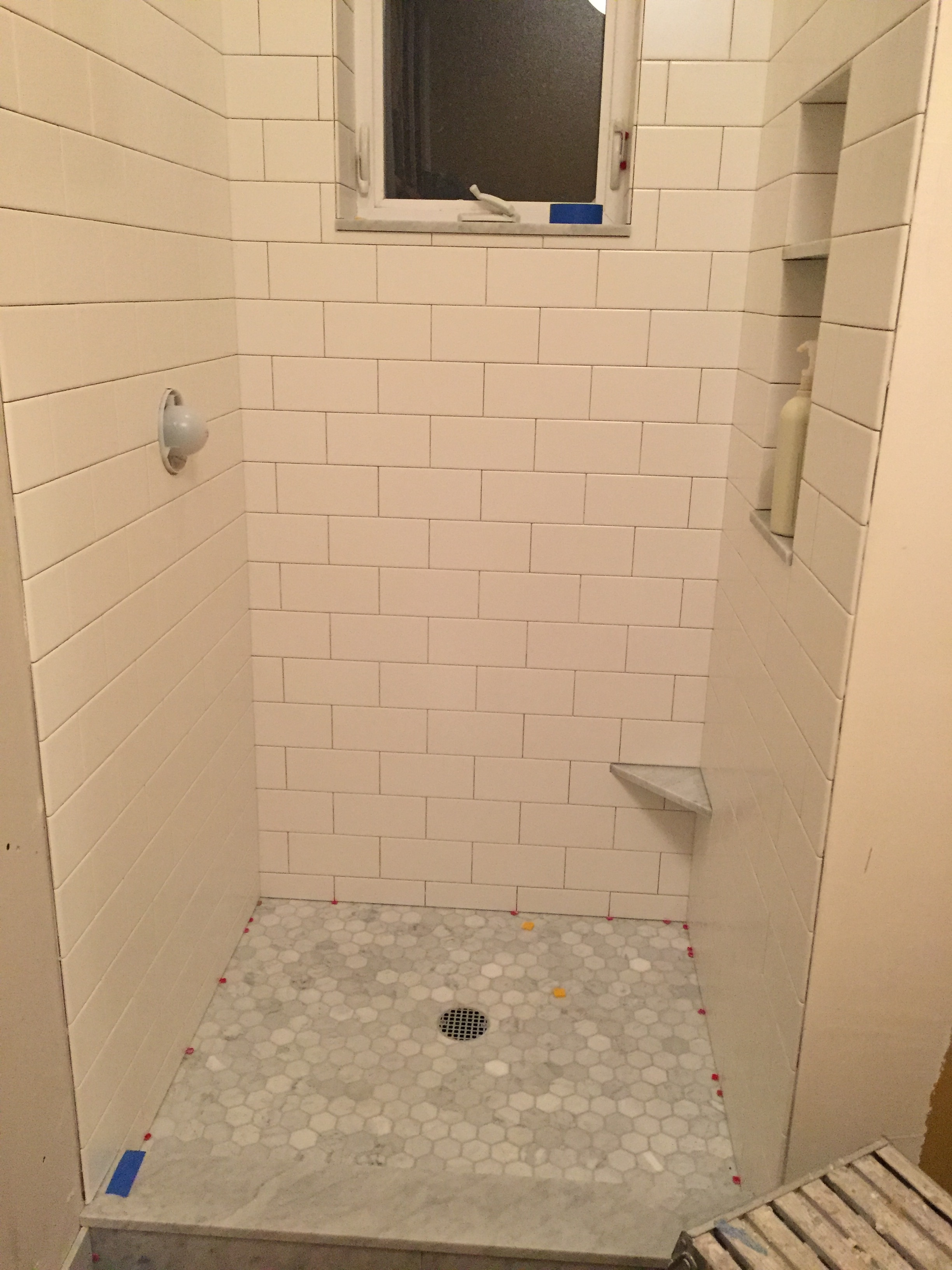 Re Tile Bathroom Bathroom Renovation Keeping Up With The Allens